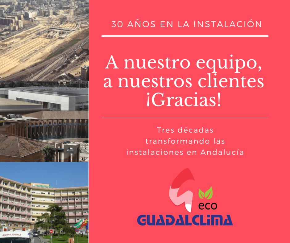 Guadalclima: 30 años transformando las instalaciones en Andalucía
