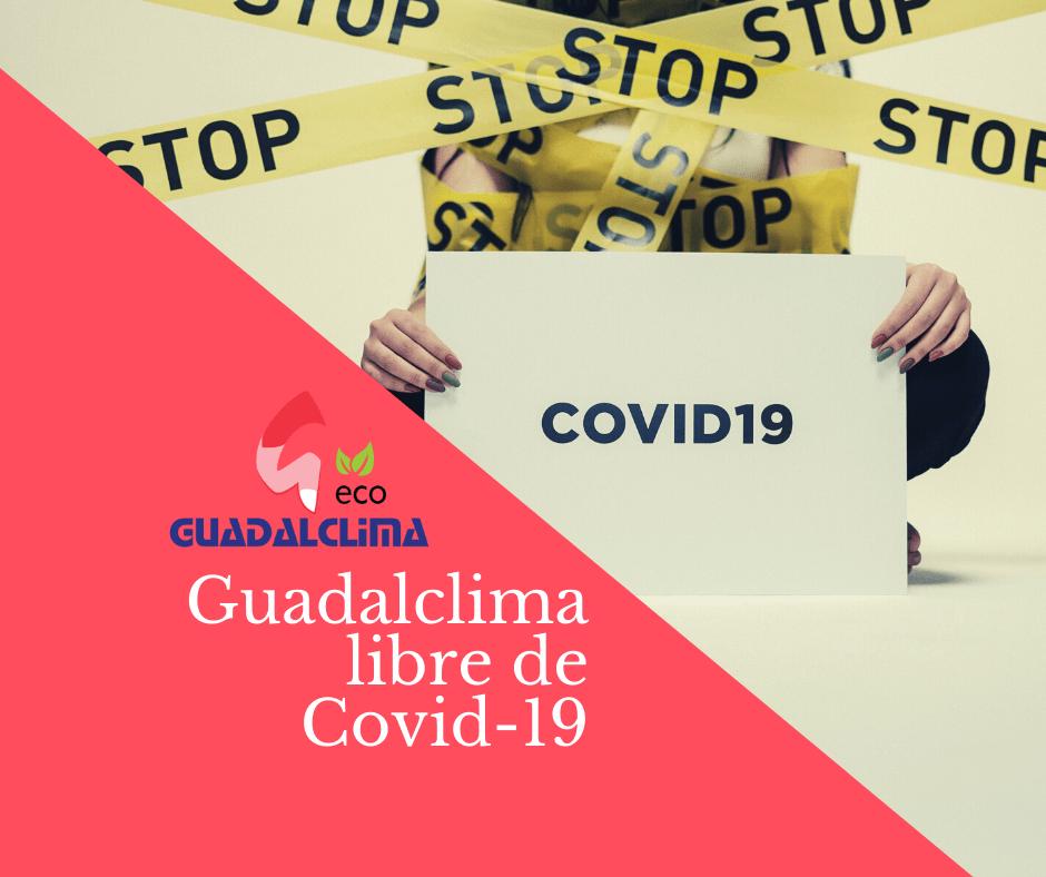 ¡Confirmado! Guadalclima S.L. está libre de COVID-19