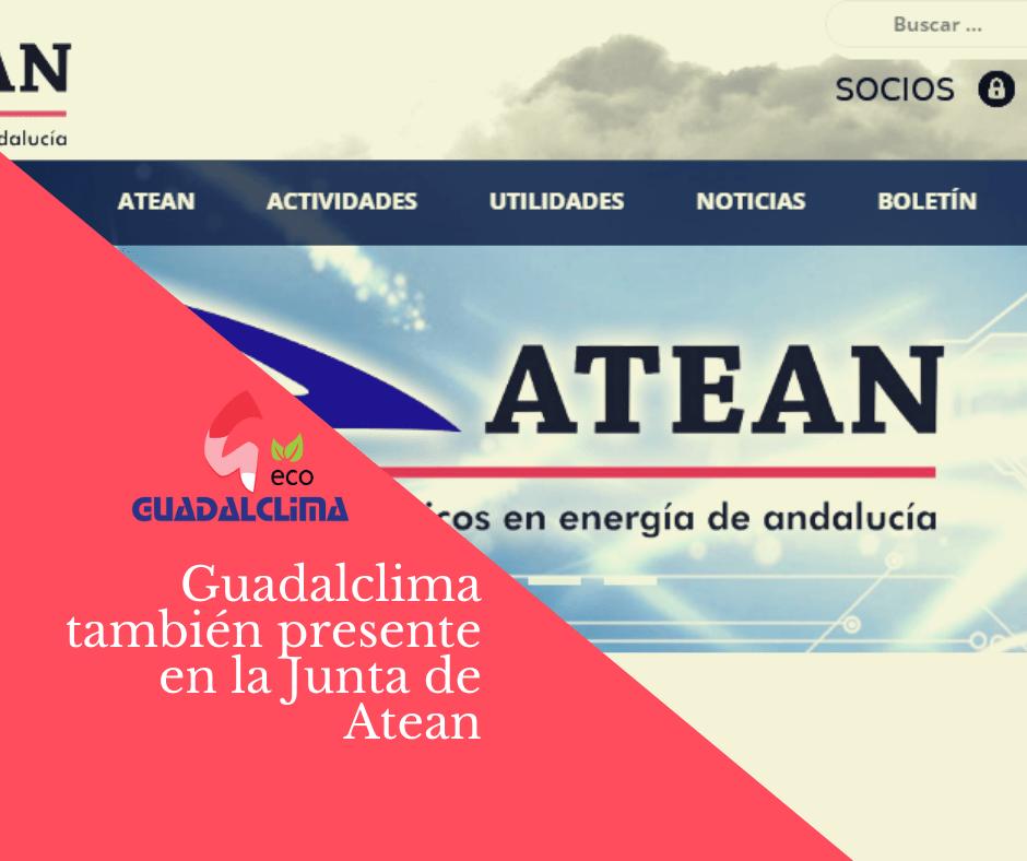 Guadalclima sigue un año más en la Junta Directiva de Atean