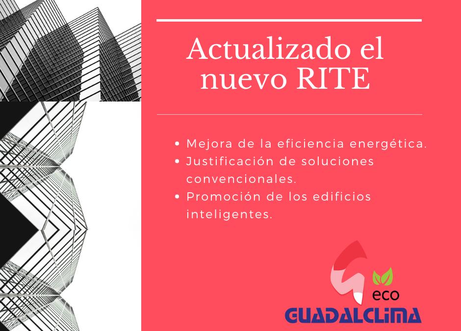 Actualizado el RITE con el objetivo de hacer más eficientes las instalaciones