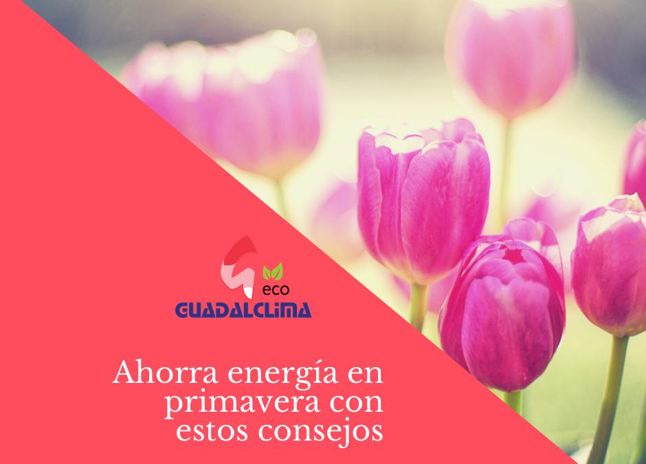 Consejos para ahorrar energía en primavera