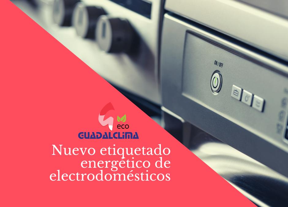 Un nuevo etiquetado energético de electrodomésticos llega al mercado