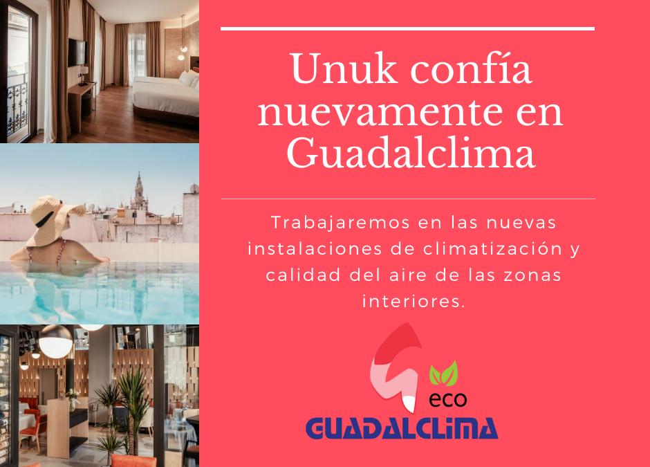 El Hotel Unuk vuelve a confiar en Guadalclima para nuevas instalaciones de climatización y calidad del aire interior